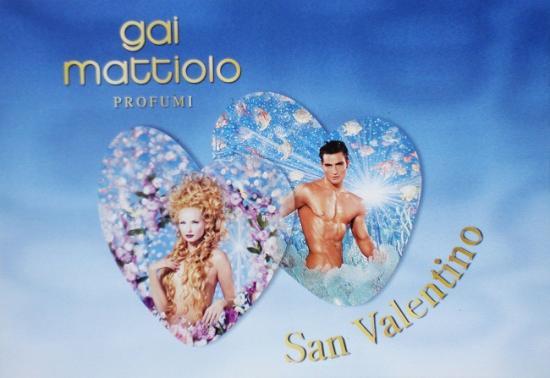 1998 carton St Valentin Gai Mattiolo