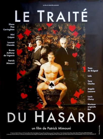 1998 grande affiche du film 'Le traîté du hasard' de Patrick Mimouni
