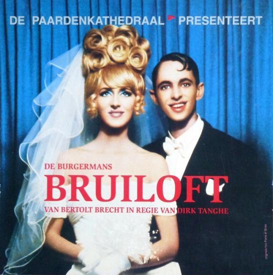 1998 plaquette 'De burgermans Bruiloft' Nederland