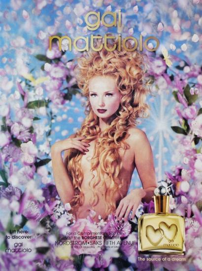 1998 pub parfum Gai Mattiolo