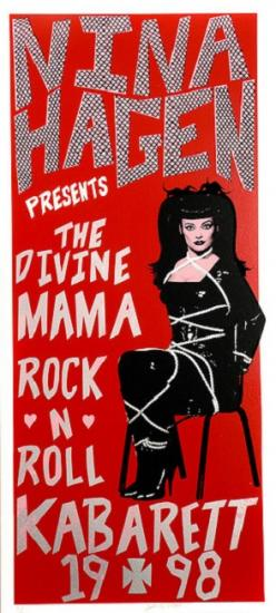 1998 'The divine rock'n'roll kabarett' Nina Hagen