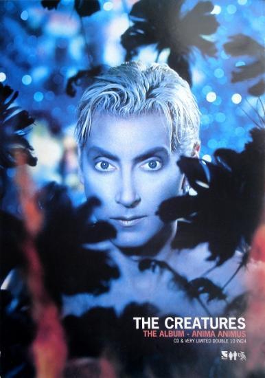 1999 affiche promo pour l'album de The Creatures: Anima animus