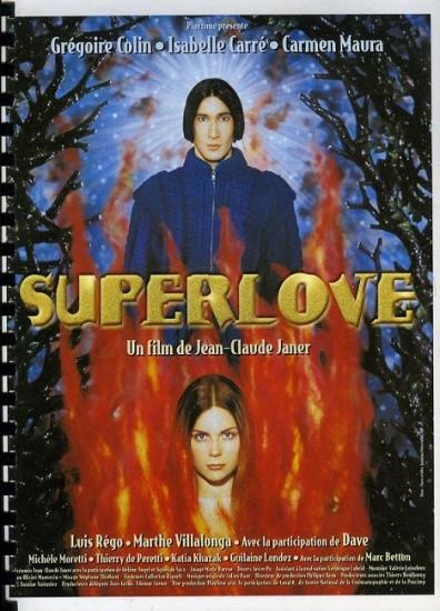 1999 dossier de presse du film 'Superlove' de Jean-Claude Janer