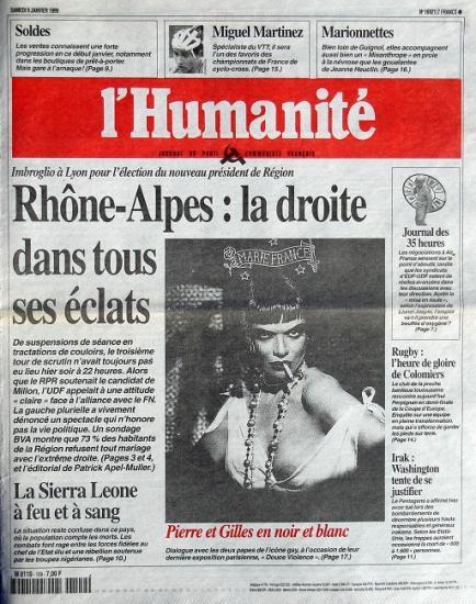 1999 L'humanité n°16921