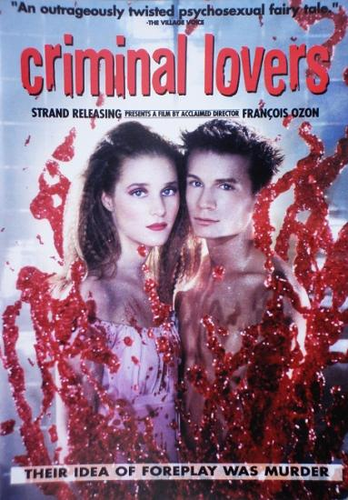 Criminal lovers, film de François Ozon, 2001, dvd USA