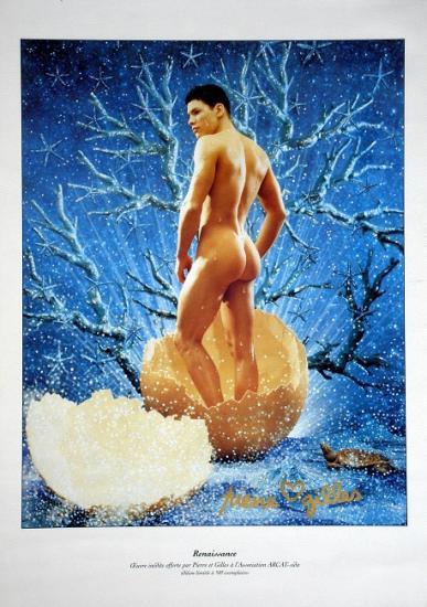 1999 oeuvre inédite offerte à l'Association ARCAT-sida