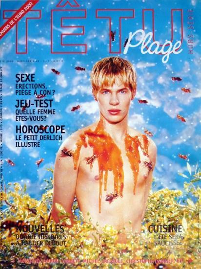 2000 aff promo Têtu plage n°1