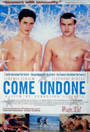 2000 affiche come undone,  film de sébastien lifshitz (angleterre)