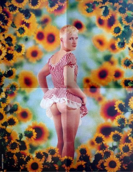 2000 affiche pour 'La Beauté en Avignon'