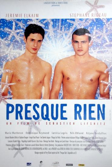 2000 affiche du film de Sébastien Lifshitz: Presque rien