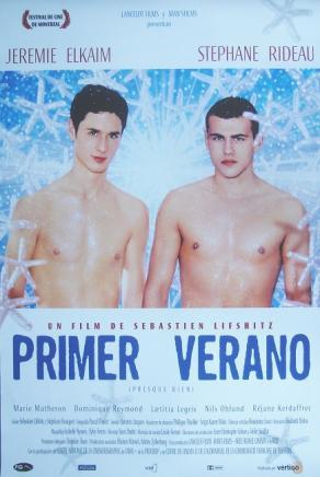 2000 affiche primer verano,  film de sébastien lifshitz (espagne)
