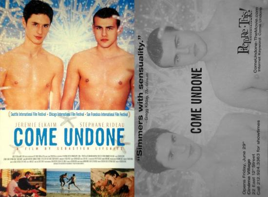 2000 carte promo Come undone