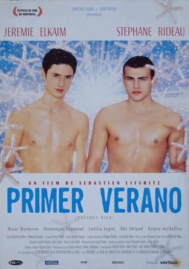 2000 plaquette promo Primer verano, Sébastien Lifshitz, Espagne