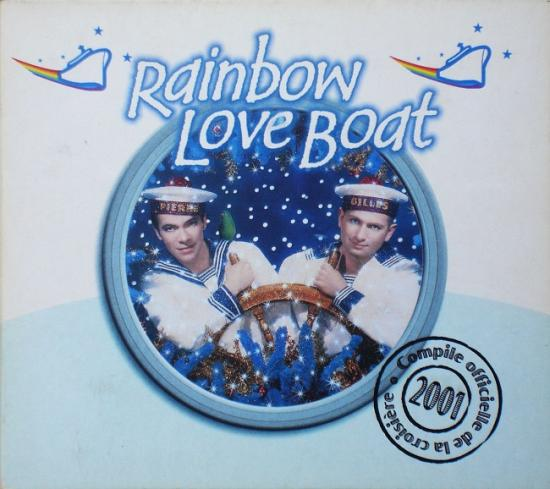 Rainbow love boat, 2001, cd digipak