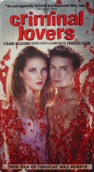 2001 François Ozon 'Criminal lovers', vhs USA