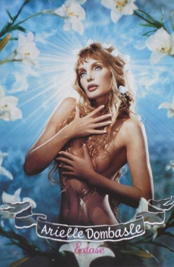 2002 carte promo album Extase, Arielle Dombasle