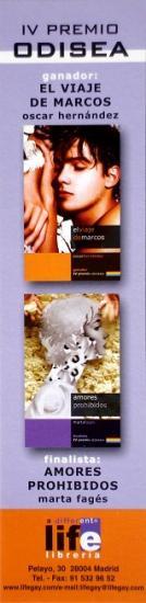 Marque page espagnol, 2002