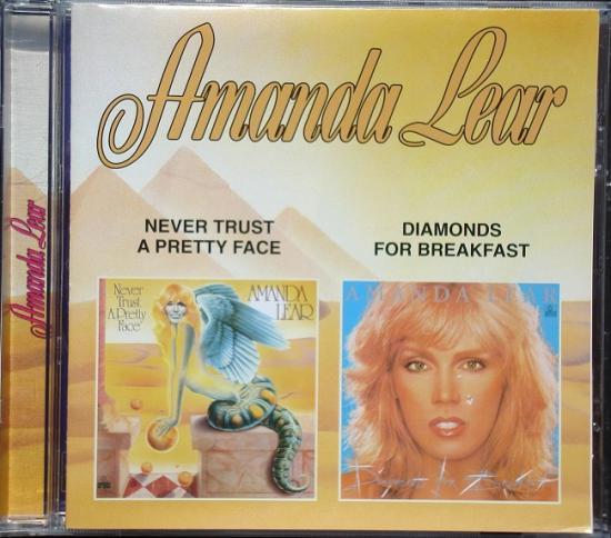 Amanda Lear: Never...  -Diamonds..., 2002, cd Russie
