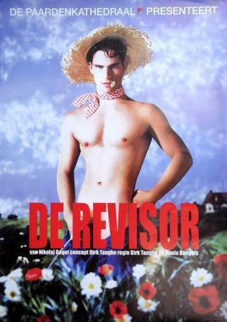 2003 affiche de la pièce de théâtre De Revisor (Nicolas Gogol)