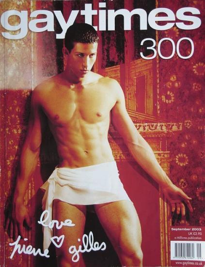 2003 Gaytimes n°300 (Angleterre)