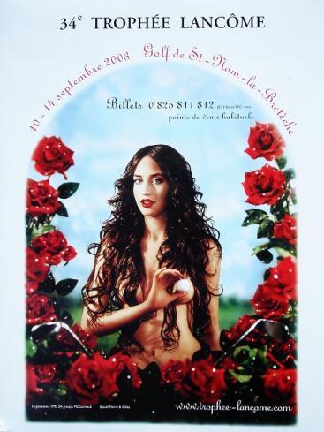 2003 affiche pour le 34e Trophée Lancôme