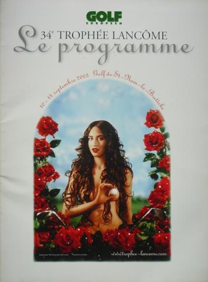2003 programme 34° trophée Lancôme