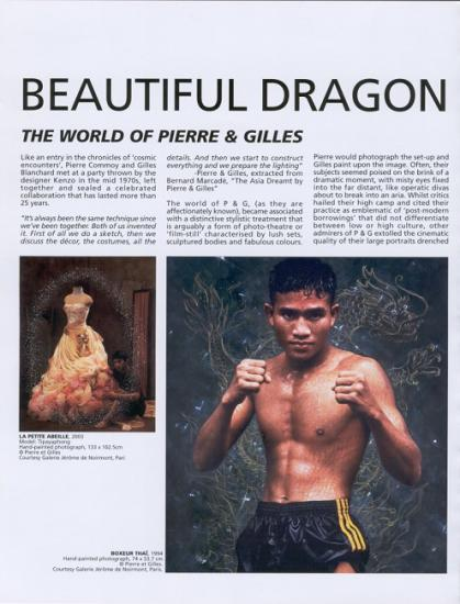2004 fiche Beautiful dragon, Singapour, 2