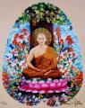 2004 affiche de l'exposition 'Le grand amour' galerie J. de Noirmont, Paris, 40x50 cm
