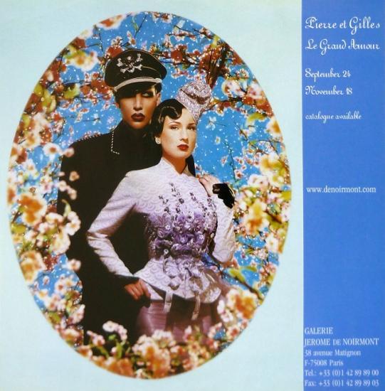 2004 publicité de l'expo 'Le grand amour'