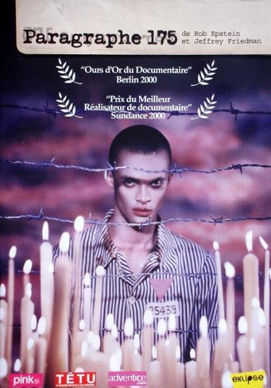 Paragraphe 175, film de R. Epstein et J. Friedman, 2005, dvd