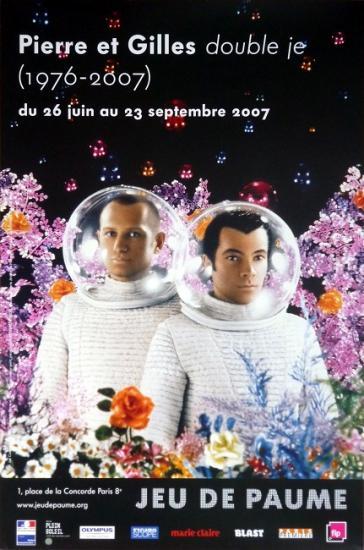 2007 aff expo 'Double je' Jeu de paumes, Paris