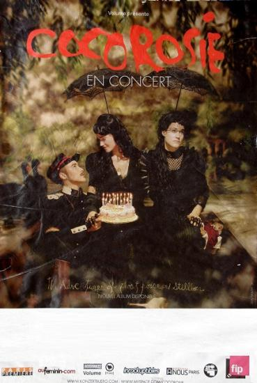 2007 affiche de concert de Cocorosie