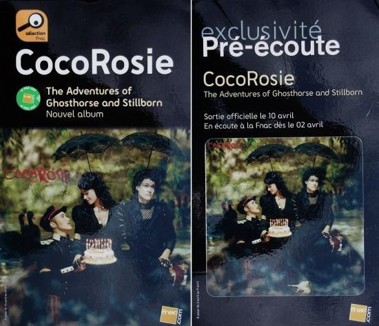 2007 promo de Cocorosie, FNAC