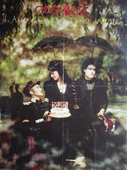 2007 affiche promo pour l'album de Cocorosie