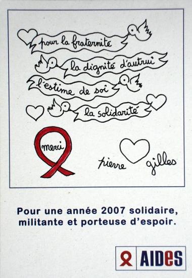 2007 promo pour la vente Artcurial Aides