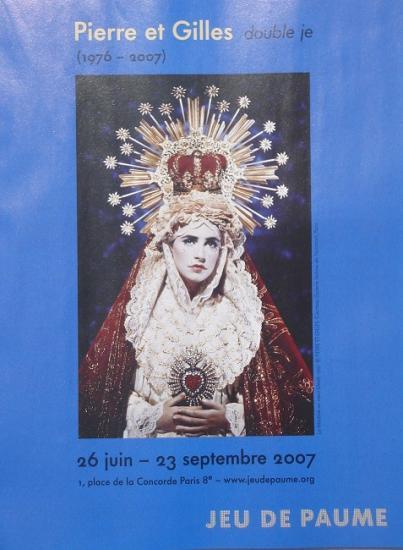 """Pub """"Double je"""", Jeu de Paumes, Paris, 2007"""