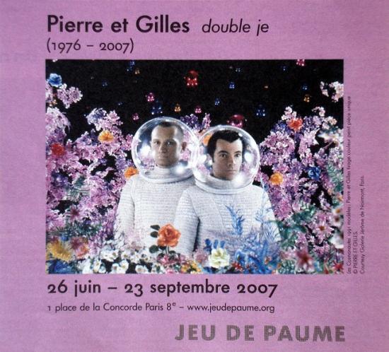 2007 pub rétrospective Double je, Jeu de Paumes, Paris