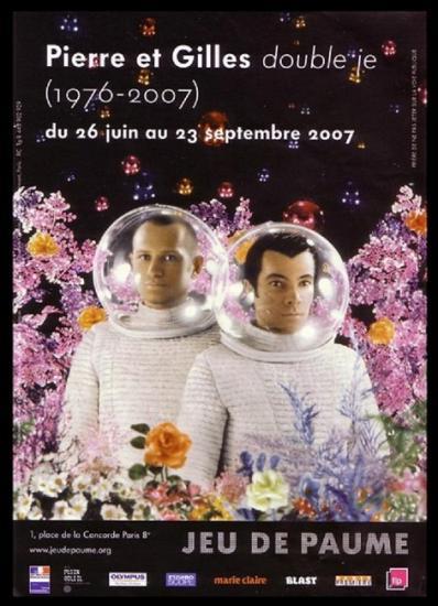 """Flyer expo """"Double je"""", Jeu de Paumes, Paris, 2007"""