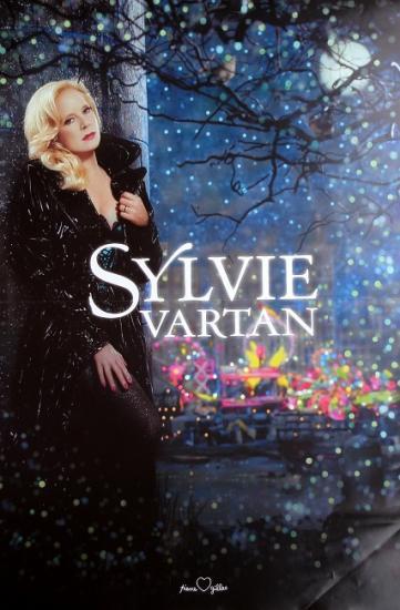 2009 affiche pour les concerts de Sylvie Vartan