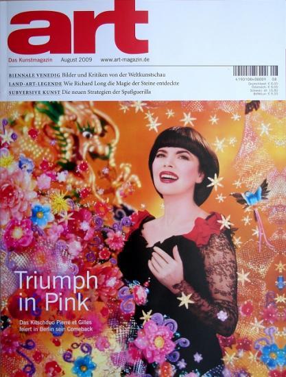2009 Art das Kunstmagazin n°8 (Allemagne)