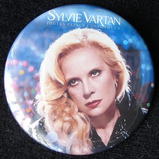 2009 badge Sylvie Vartan