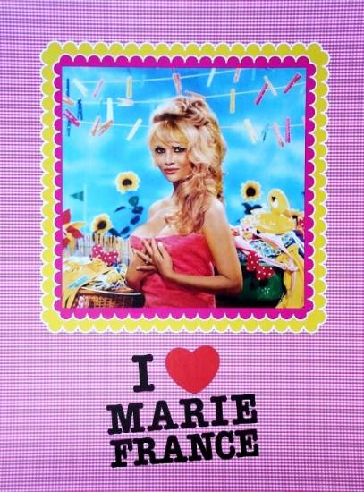 2009 affiche I love Marie-France