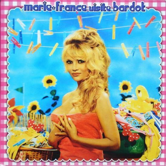 Marie-France: Marie-France visite Bardot, 2009, cd single promo