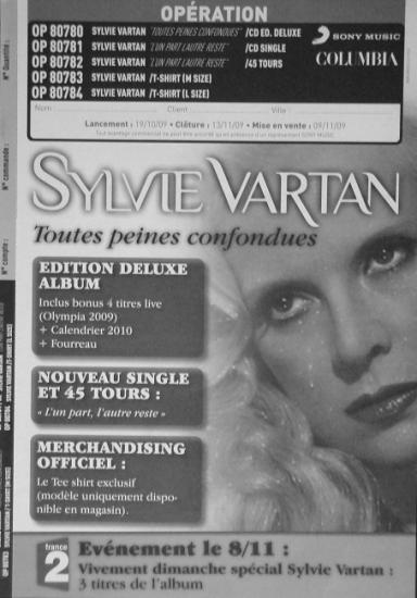 2009 promo Sylvie Vartan