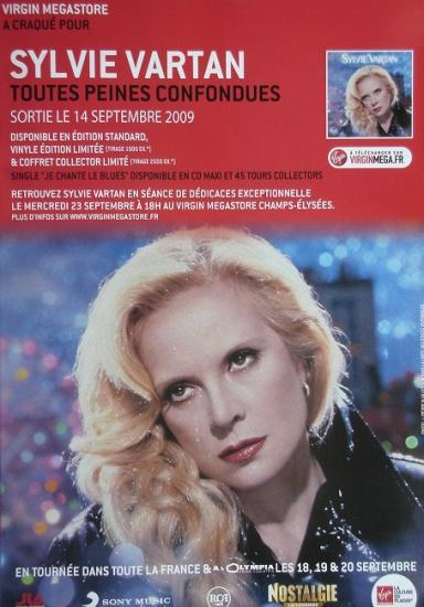 2009 pub Toutes peines confondues, Sylvie Vartan