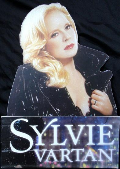 Présentoir Sylvie Vartan, 2009