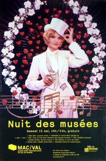 2010 aff 'Nuit des musées' Mac-Val
