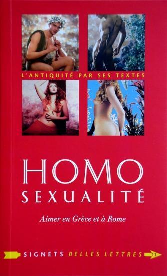2010 Homo sexualité, aimer en Grèce et à Rome