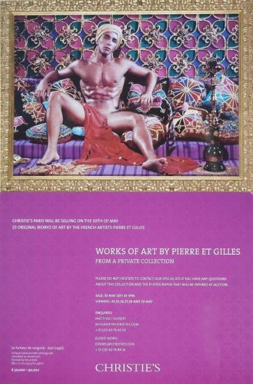 2011 carte vente Christie's, Paris