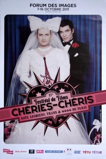 2011 affiche festival Chéries-Chéris